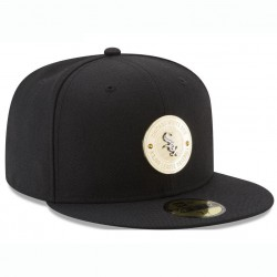 Cap Unisex Chicago White Sox New Era MLB Inner Gold Circle 59FIFTY