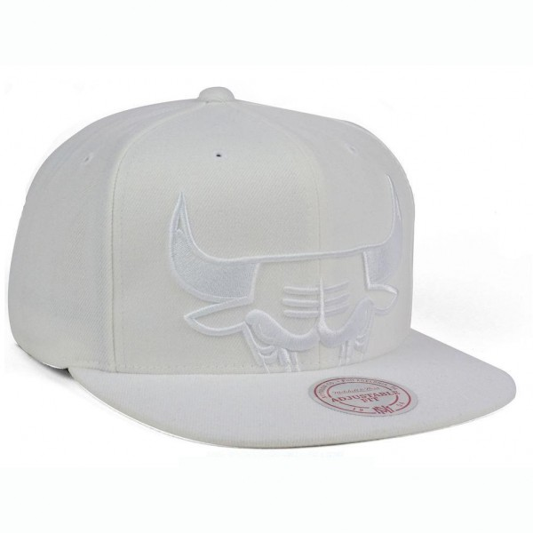 Καπέλο Unisex Chicago Bulls Mitchell Ness NBA Cropped XL Logo Snapback