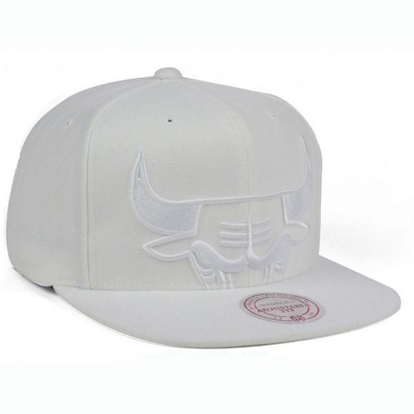 Καπέλο Unisex Chicago Bulls Mitchell Ness NBA Cropped XL Logo Snapback