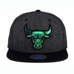 Καπέλο Unisex Chicago Bulls Mitchell Ness NBA Reflective Gaze Snapback Graphite