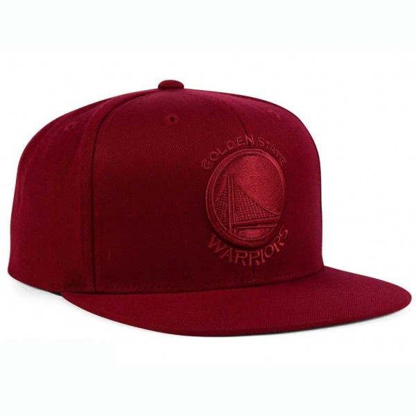 Καπέλο Unisex Golden State Warriors Mitchell Ness NBA Snapback Cardinal