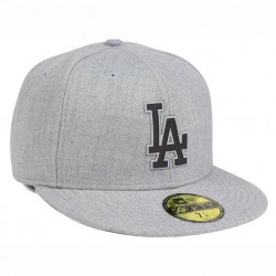 Cap Unisex Los Angeles Dodgers New Era MLB Dual Flect 59FIFTY Heather