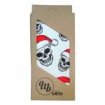 MB Santa skull white