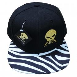 Cap Color Art Zebra