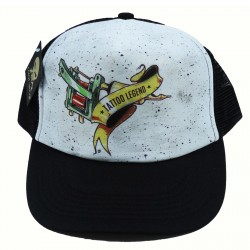 Cap Tattoo Legend White